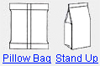 Pillow Bag/Stand Up
